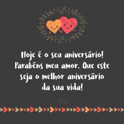 Frases De Aniversario Com Amor