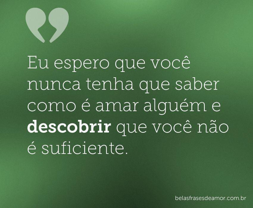 Frases De Amor Não Correspondido Imagui