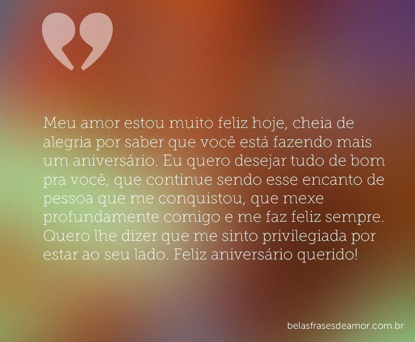 """Belas Frases De Amor Para Declarar O Seu Amor Feliz: """"Meu Amor Estou Muito Feliz Hoje, Cheia De Alegria Por"""