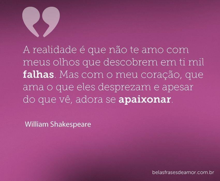 Frases De Amor Eterno William Shakespeare Gong Syimo