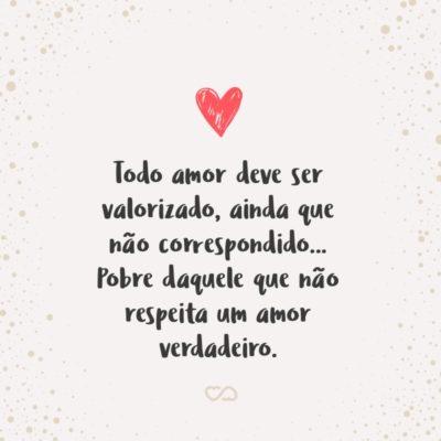 Frases De Amor Nao Correspondido