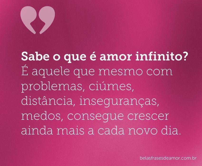Frases de Amor infinito