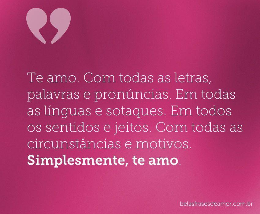 Frases Para Colocar Status Ex Namorado Namorada: FRASES DE AMOR → Lindas Mensagens De Amor (Veja Aqui