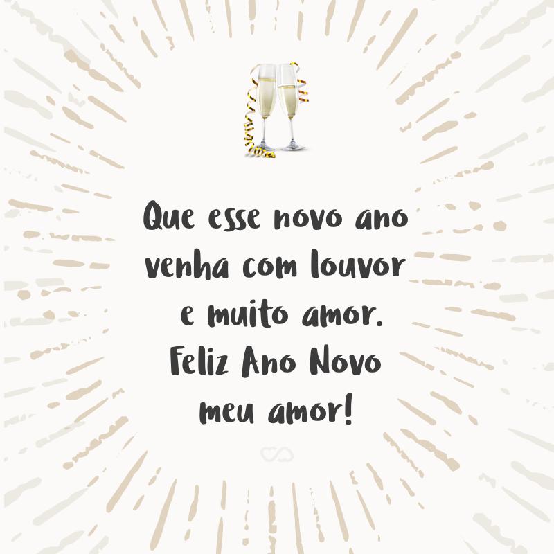 Frases De Ano Novo Com Amor
