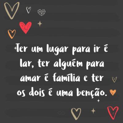 Frases De Amor De Familia