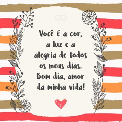 Frases De Bom Dia Com Amor