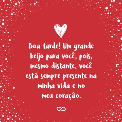 Frases De Boa Tarde Com Amor
